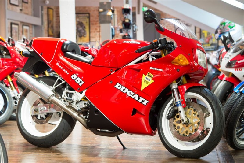 used Ducati 851 SP2 STUNNING CONDITION No: 157 LTD PRODUCTION in sheffield-for-sale