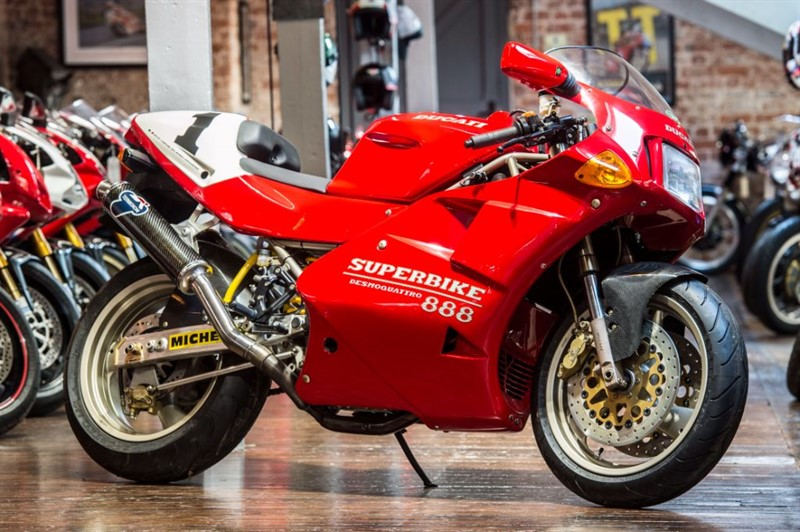 used Ducati 888 SP5 100% CONCOURS in sheffield-for-sale