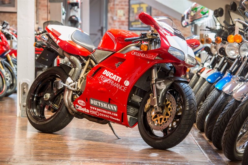 used Ducati 916 FOGGY REPLICA NO 178 OF JUST 202 - SUPER RARE in sheffield-for-sale