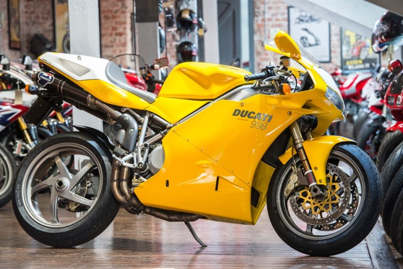 used Ducati 998 BIPOSTO SUPERB RARE EXAMPLE in sheffield-for-sale