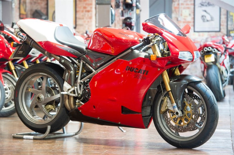 used Ducati 998 R ORIGINAL LOW MILEAGE in sheffield-for-sale