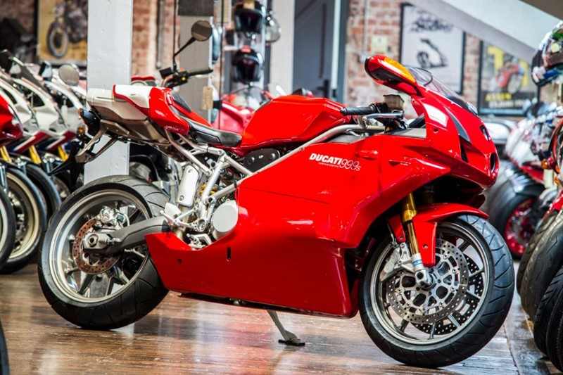 used Ducati 999 S ORIGINAL LOW MILEAGE in sheffield-for-sale