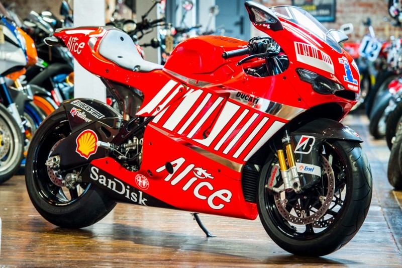 used Ducati  DESMOSEDICI -TEAM STONER REPLICA - UTTERLY STUNNING EXAMPLE!!! in sheffield-for-sale