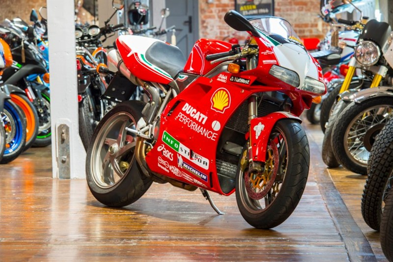 used Ducati  996 FOGGY REPLICA NO 71 OF JUST 150 - SUPER RARE in sheffield-for-sale