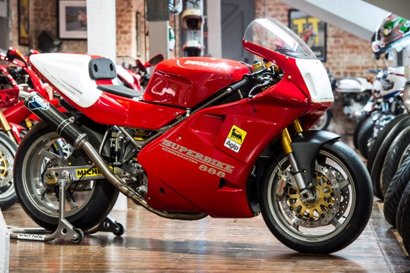 used Ducati  926 RACE BIKE CONCOURSE RESTORATION in sheffield-for-sale