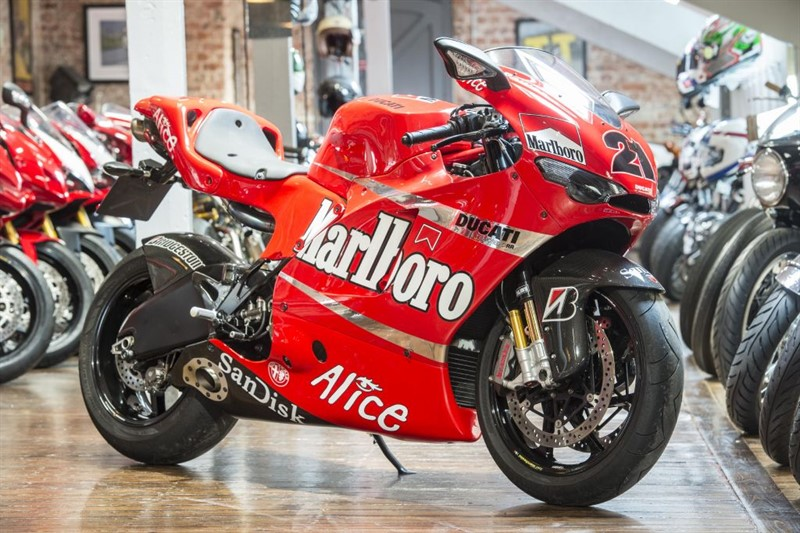 used Ducati DESMOSEDICI ROSSO GP7 EXHAUST SYSTEM in sheffield-for-sale