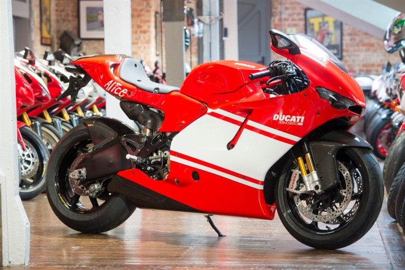 used Ducati DESMOSEDICI ULTIMATE INVESTMENT BRAND NEW OLD STOCK in sheffield-for-sale