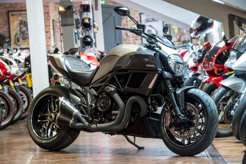 used Ducati Diavel TITANIUM NO 277 of 500 ONLY 300 Miles in sheffield-for-sale