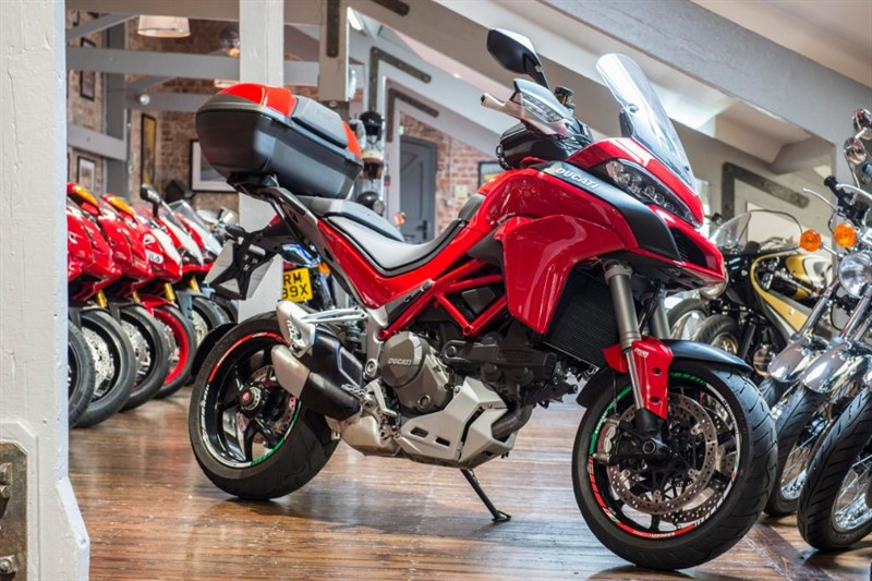 "used Ducati Multistrada 1200 S ""Urban Pack"" Mint Condition in sheffield-for-sale"