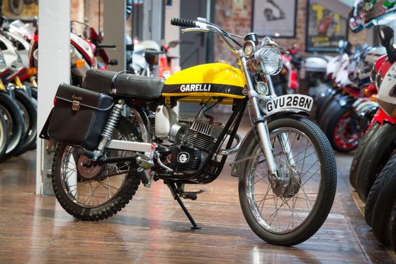 used Garelli  TIGER CROSS 50CC BEAUTIFULLY RESTORED EXAMPLE in sheffield-for-sale