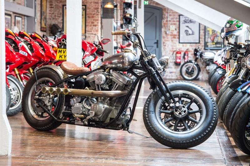 used Harley-Davidson  ONE-OFF CUSTOM BUILT BOBBER in sheffield-for-sale