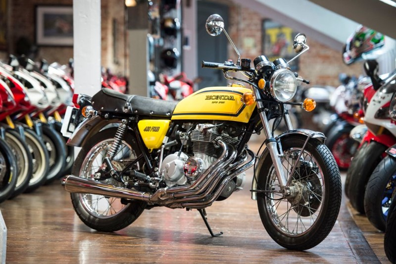used Honda CB 400 Four RESTORED SEVENTIES CLASSIC in sheffield-for-sale
