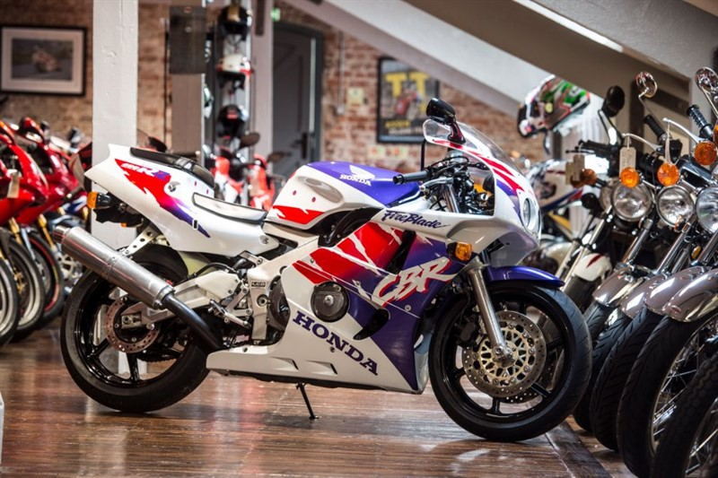 "used Honda CBR 400RR ""BABY BLADE"" in sheffield-for-sale"