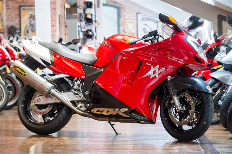 used Honda CBR 1100 XX SUPER BLACKBIRD NO: 1 OF 50 LTD EDITION in sheffield-for-sale