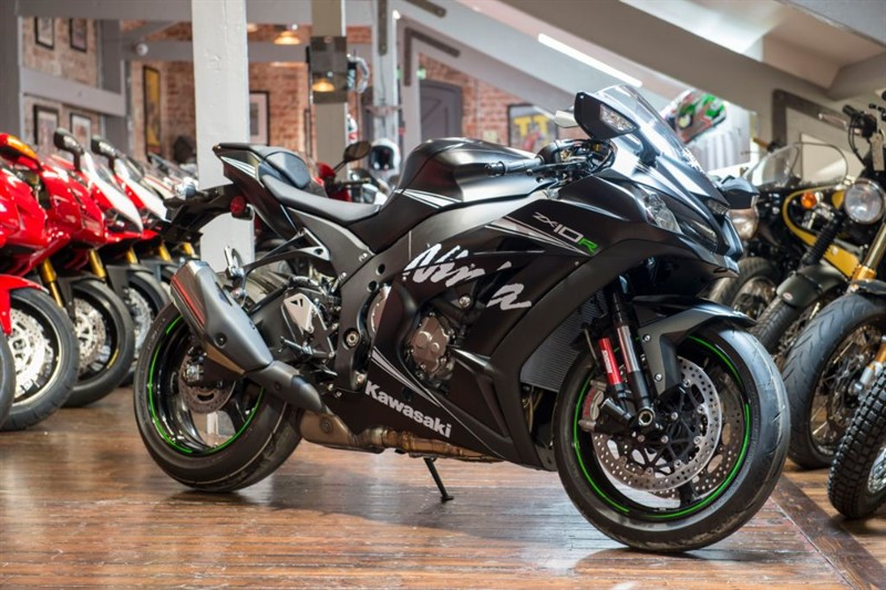 used Kawasaki  ZX10R WINTER TEST EDITION ONLY 75 EVER BUILT in sheffield-for-sale