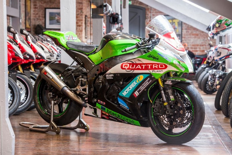 used Kawasaki ZX10R JAMES HILLIER'S 2013 ISLE Of MAN RACE BIKE in sheffield-for-sale