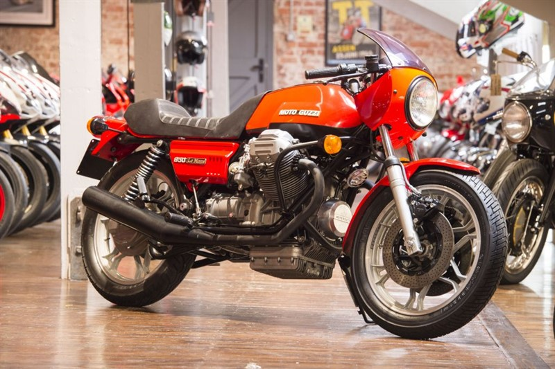 used Moto Guzzi Le Mans 850 Mk 1 Iconic classic in sheffield-for-sale