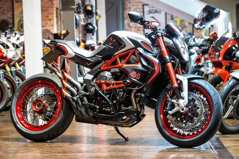 """used MV Agusta Brutale 800 DRAGSTER RR """"LH44"""" LEWIS HAMILTON LTD EDITION  in sheffield-for-sale"""