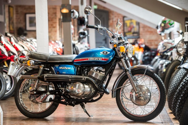 used Suzuki   T 250  MK 11 HUSTLER SHOW QUALITY in sheffield-for-sale