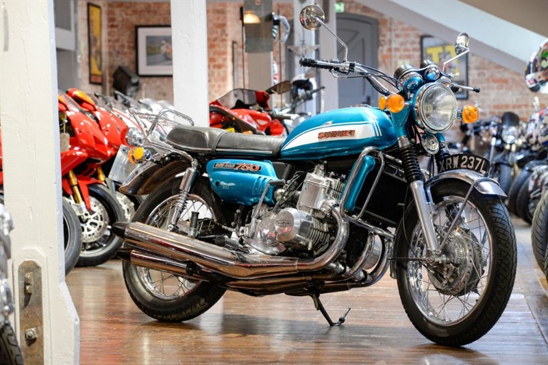 used Suzuki  GT 750 STUNNING CONDITION in sheffield-for-sale