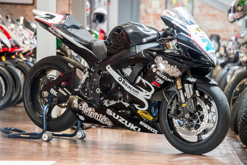 used Suzuki GSXR 600 TAS RACING MICHAEL LAVERTY's 2007 CHAMPIONSHIP WINNING BIKE  in sheffield-for-sale