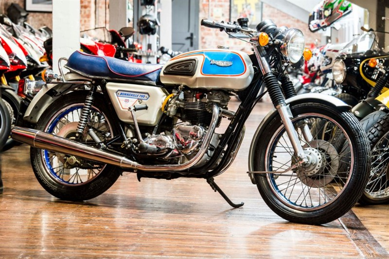used Triumph Bonneville T140 JUBILEE BRAND NEW ORIGINAL UNRESTORED EXAMPLE  in sheffield-for-sale