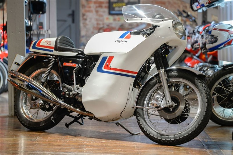 used Triumph  T160 ' SLIPPERY SAM' REPLICA BUILT BY LES WILLIAMS in sheffield-for-sale