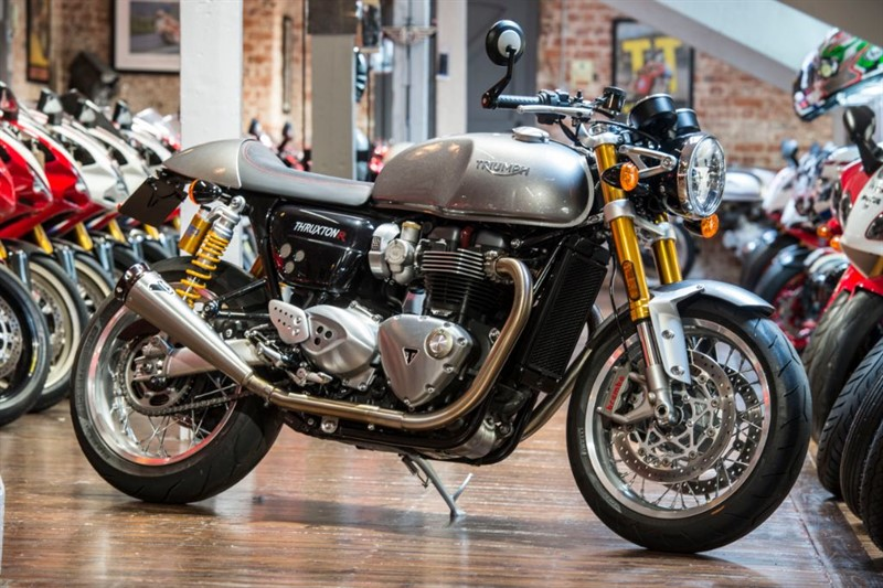 used Triumph Thruxton 1200 R TERMIGNONI EXHAUST in sheffield-for-sale