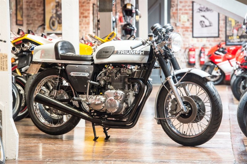 "used Triumph Trident T150V FULLY RESTORED 1968 ""PRODDY RACER"" in sheffield-for-sale"