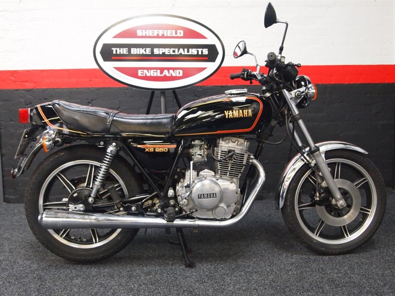 used Yamaha  XS 250 BEAUTIFULL ORIGINAL CONDITION in sheffield-for-sale