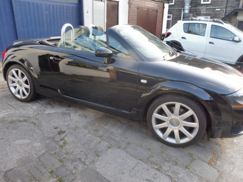 used Audi TT T 163BHP in derbyshire