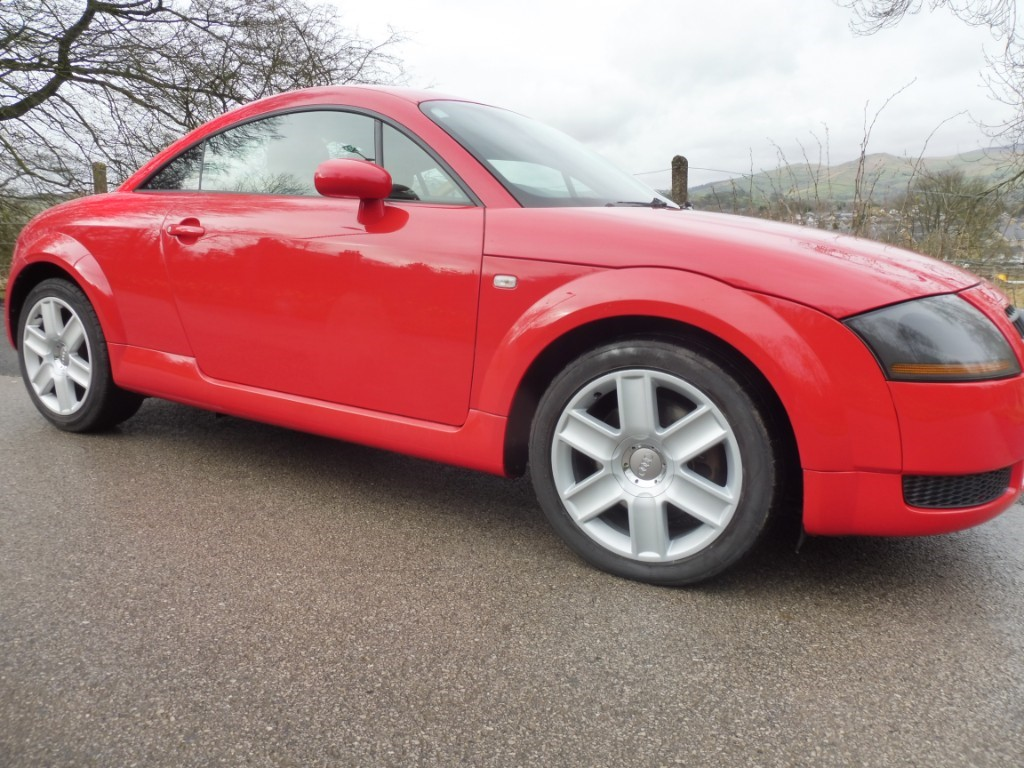 used Audi TT T 190BHP in derbyshire