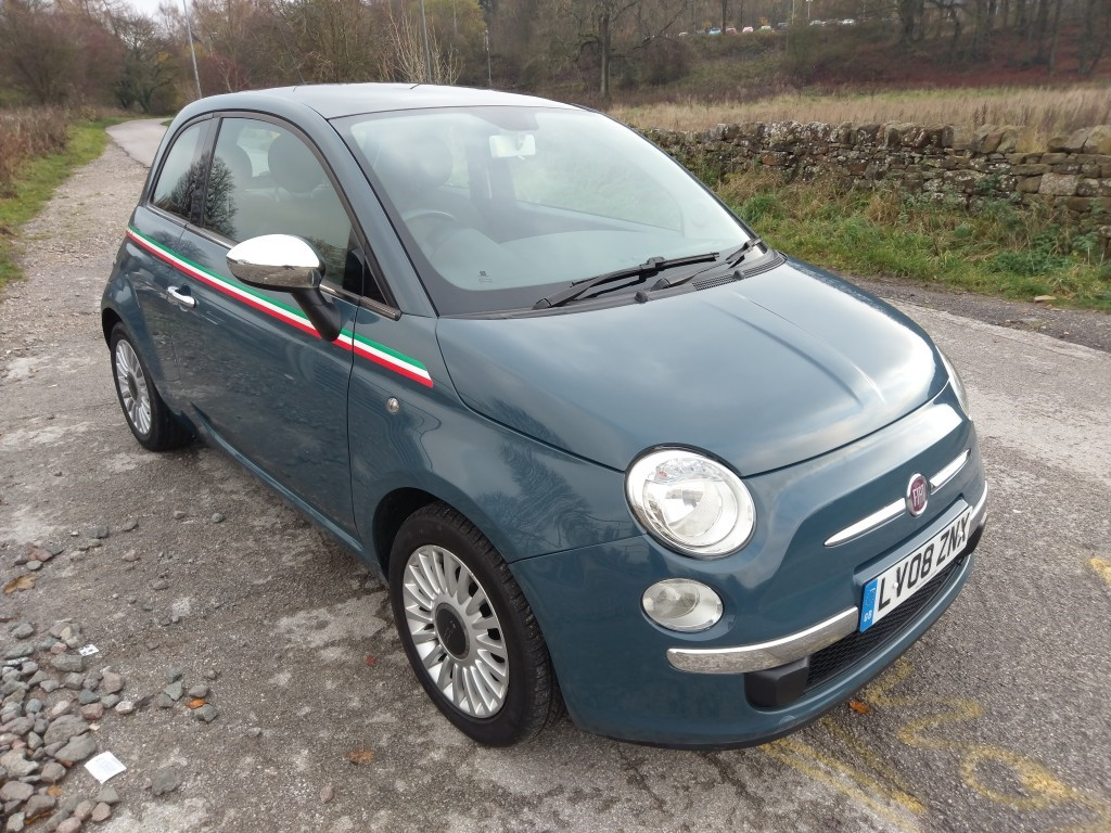 used Fiat 500 LOUNGE in derbyshire