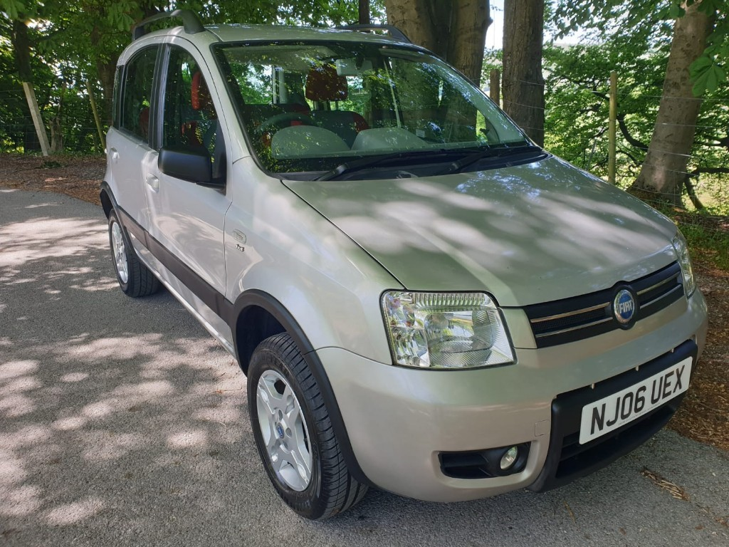 used Fiat Panda 4X4 in derbyshire