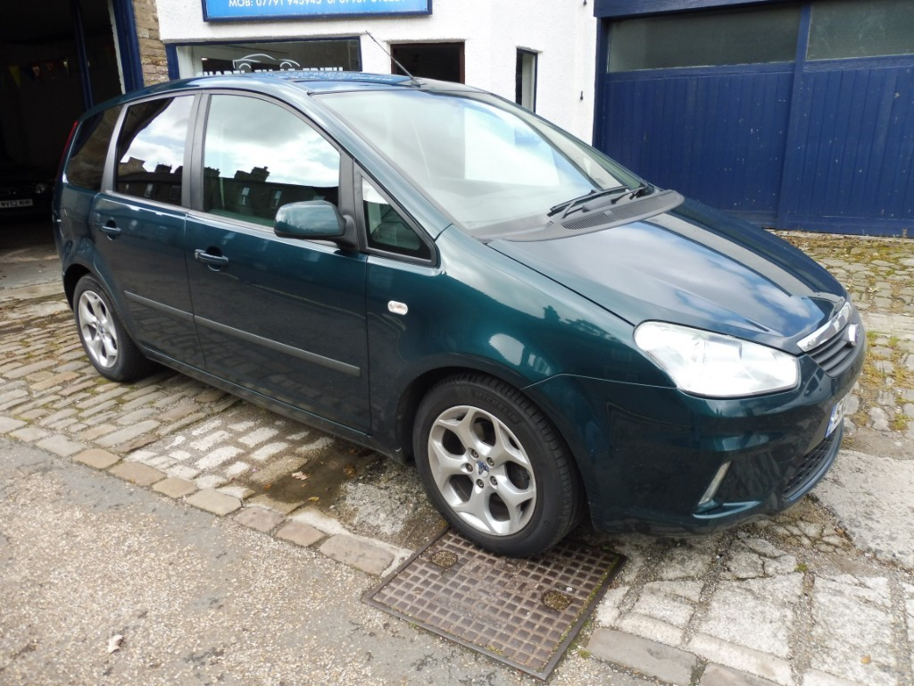 used Ford C-Max ZETEC 125 in derbyshire