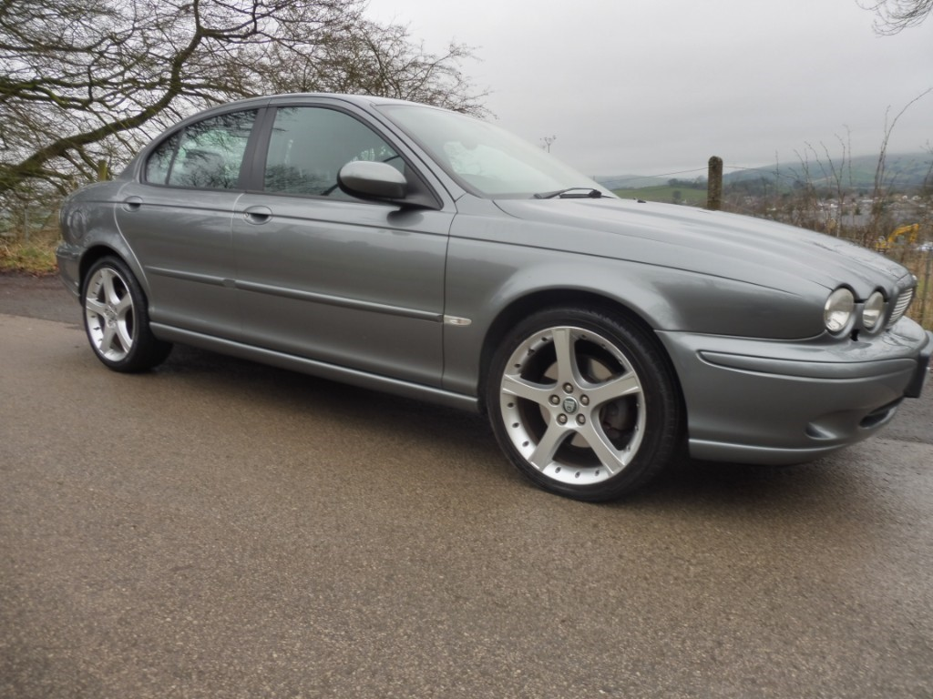 used Jaguar X-Type V6 SPORT in derbyshire
