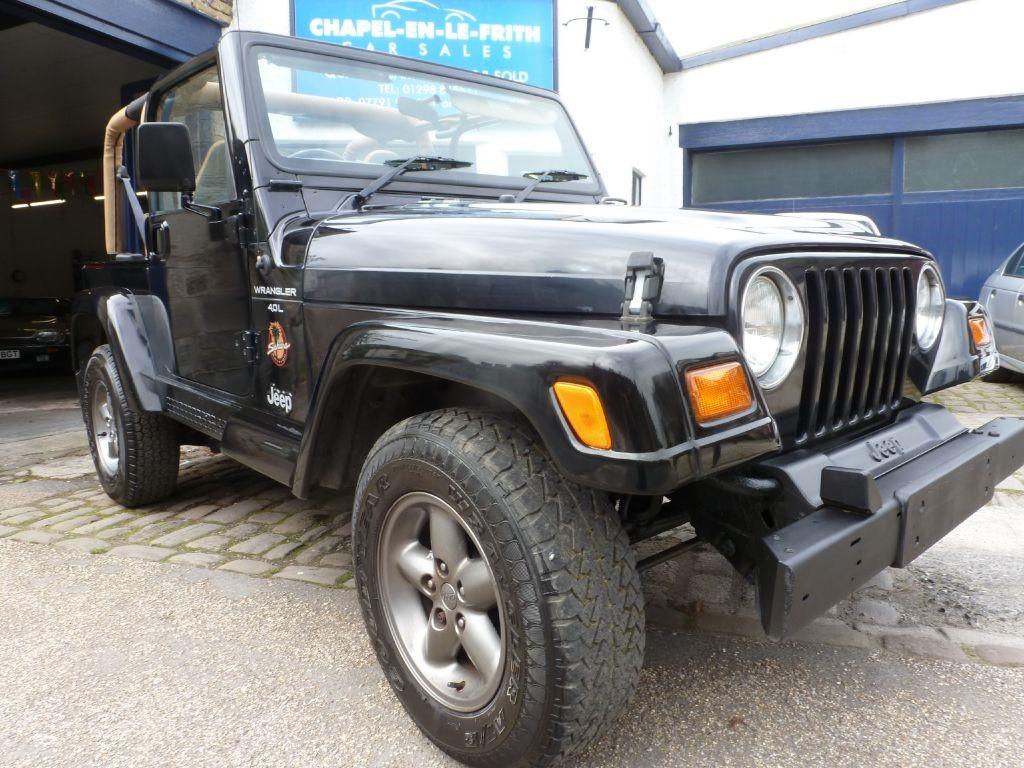 used Jeep Wrangler SAHARA in derbyshire