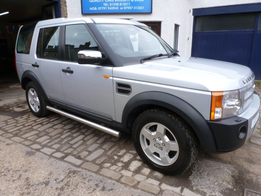used Land Rover Discovery TDV6 S in derbyshire