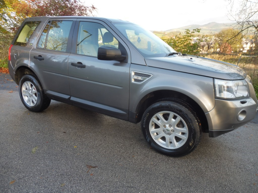used Land Rover Freelander TD4 E XS in derbyshire