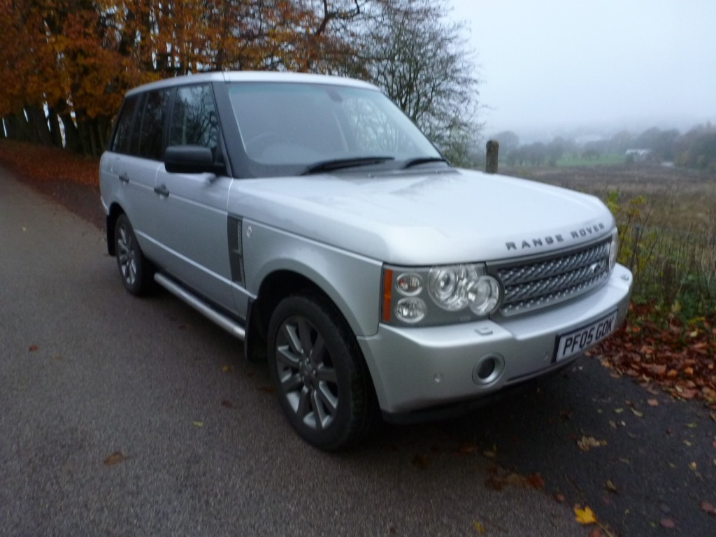 used Land Rover Range Rover V8 SUPERCHARGED in derbyshire