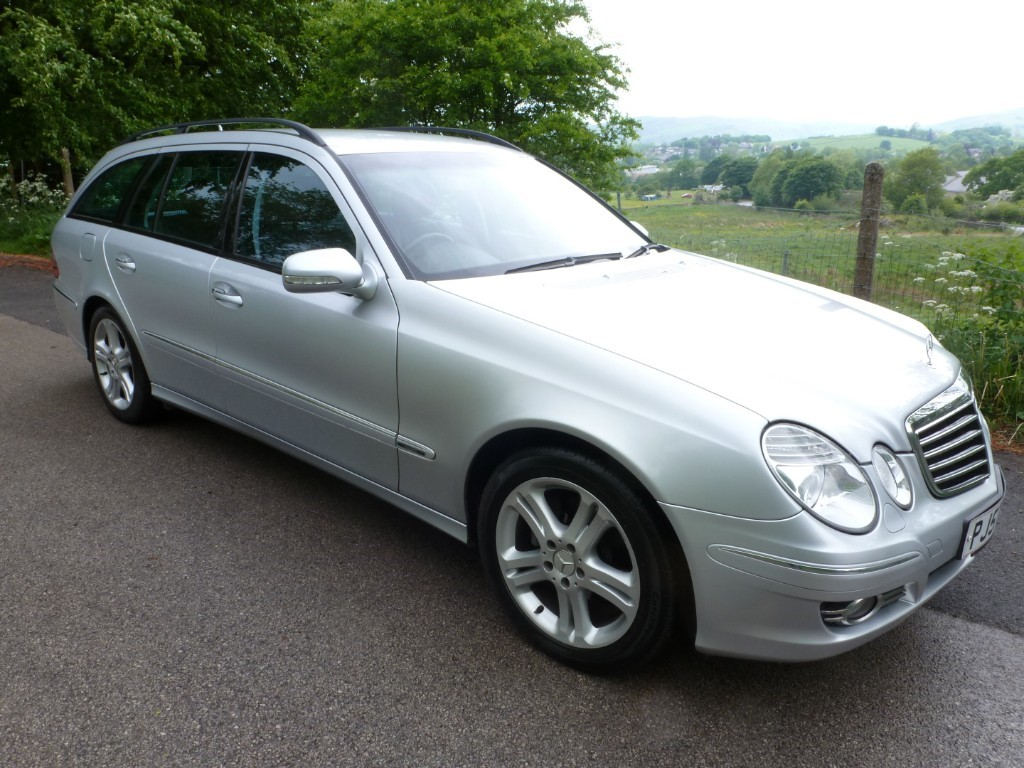 used Mercedes E200K AVANTGARDE in derbyshire