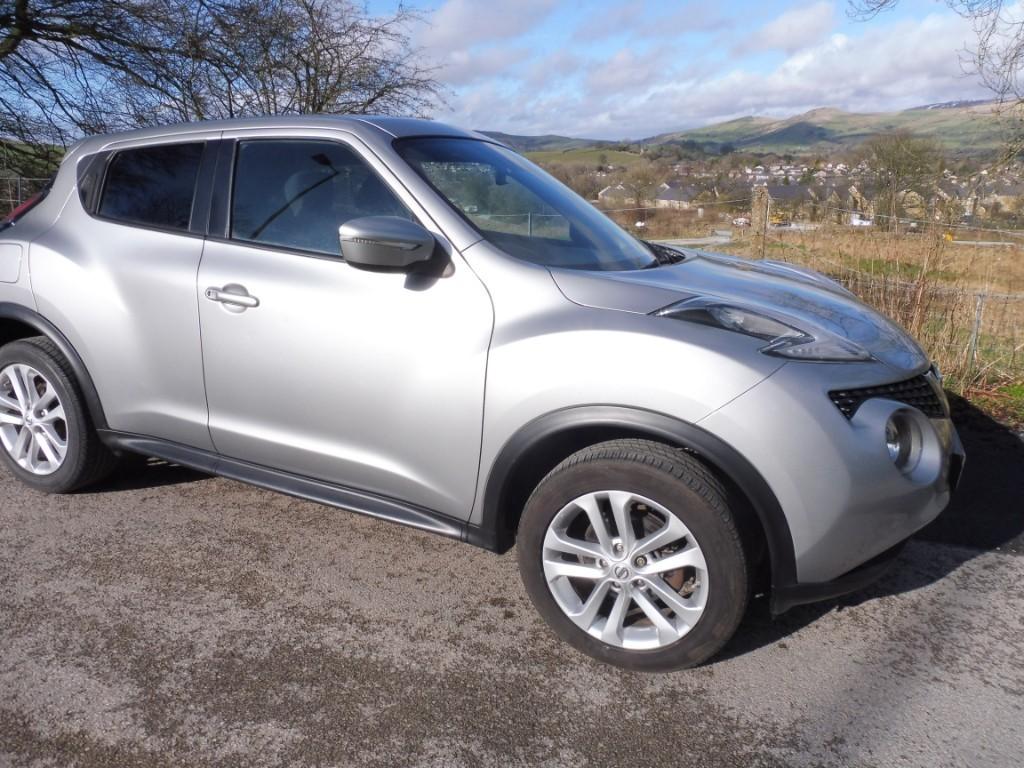used Nissan Juke ACENTA PREMIUM XTRONIC in derbyshire