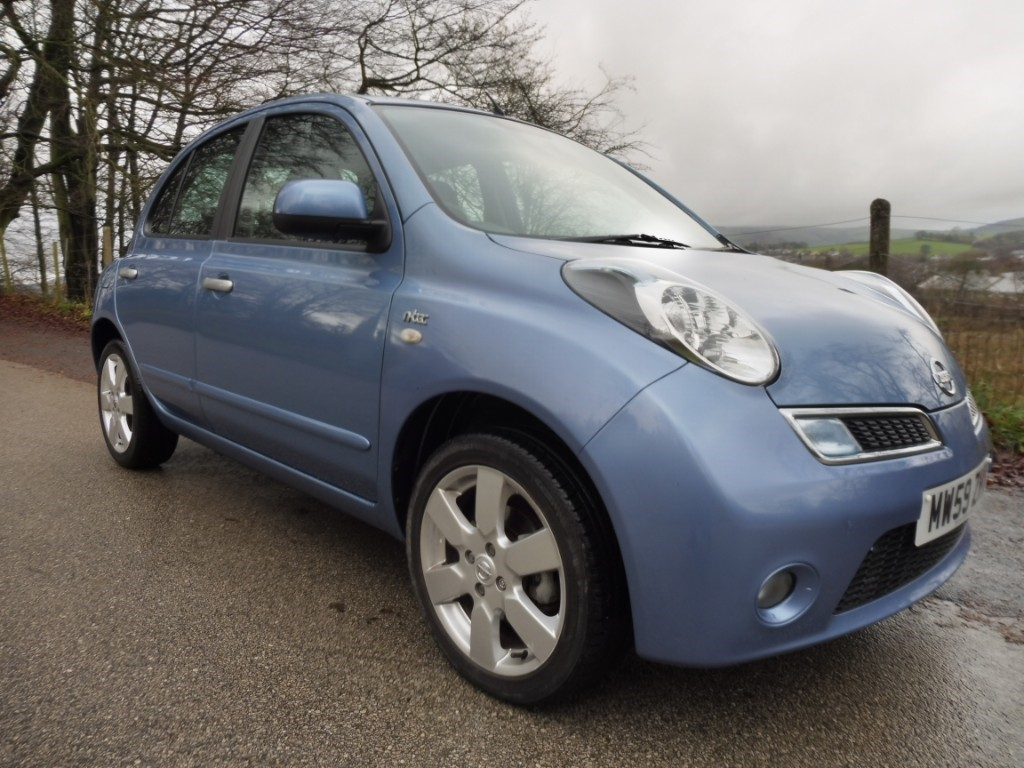 used Nissan Micra N-TEC in derbyshire