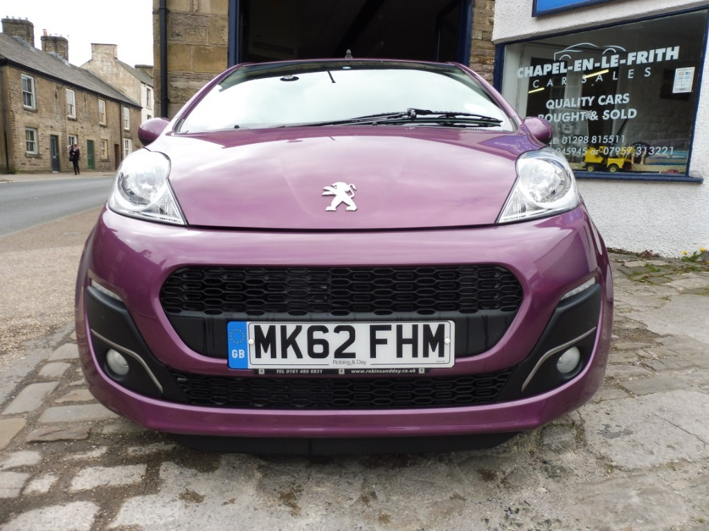 used Peugeot 107 ALLURE in derbyshire