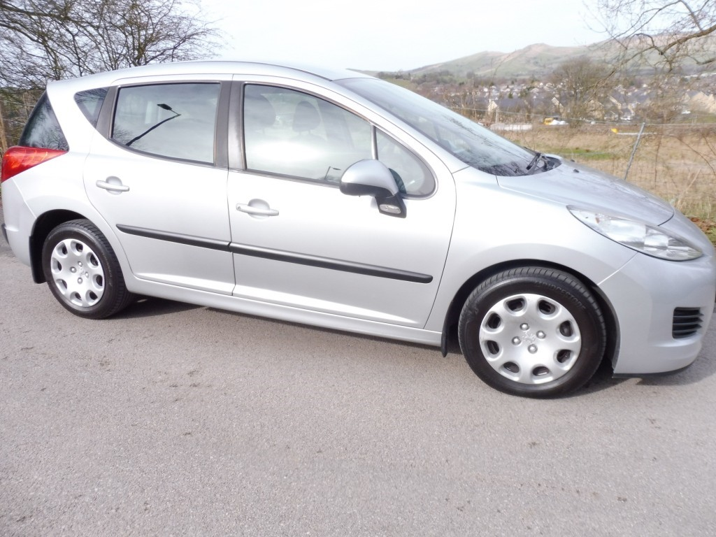 used Peugeot 207 SW S in derbyshire