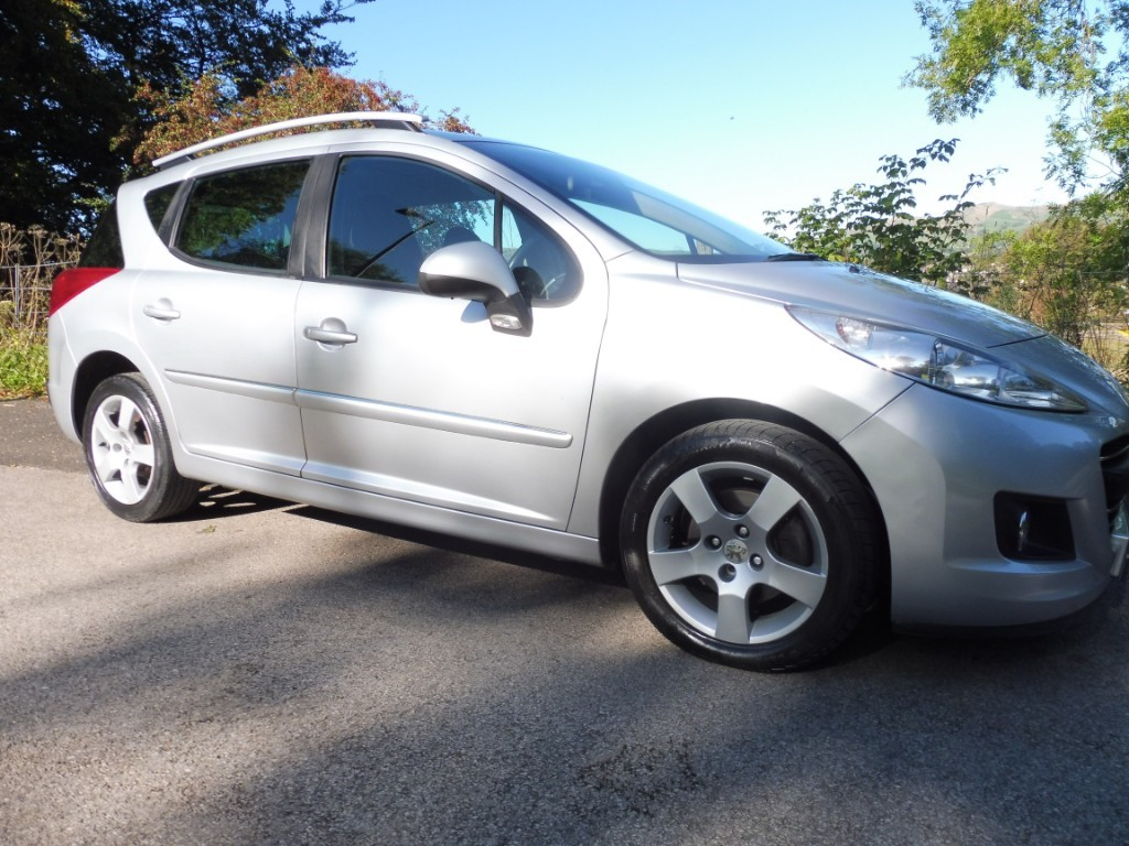used Peugeot 207 HDI SW SPORT in derbyshire
