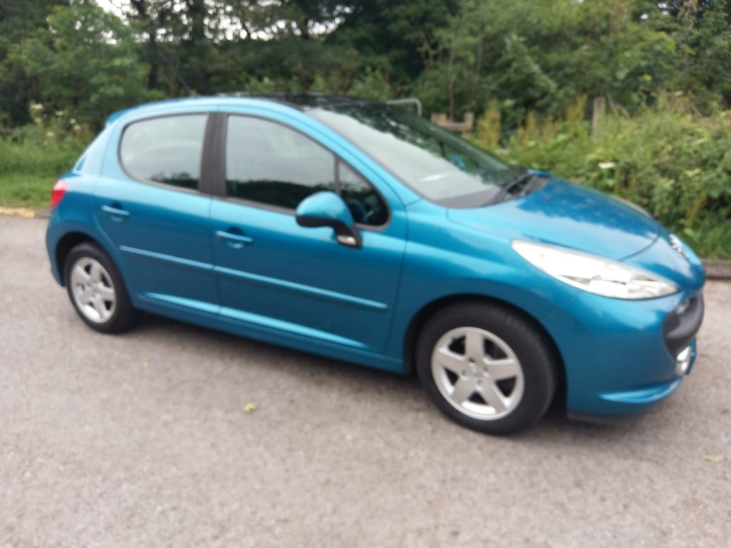 used Peugeot 207 SPORT CIELO in derbyshire