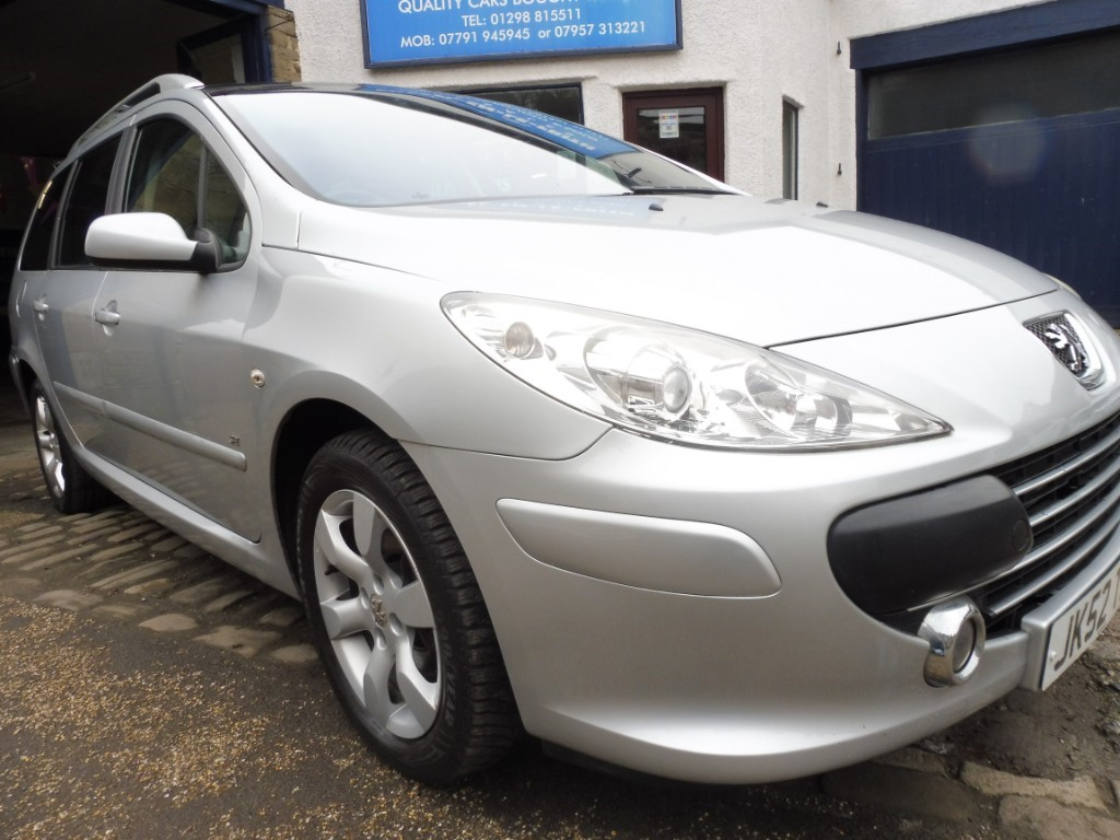 used Peugeot 307 SW SE HDI (110BHP) in derbyshire