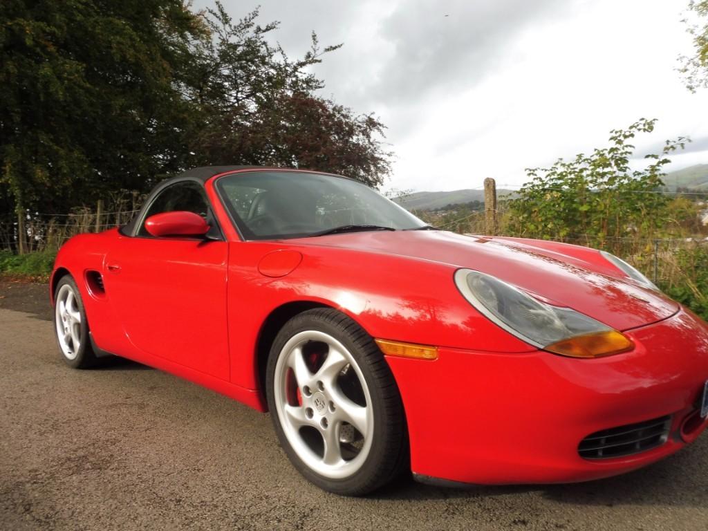 used Porsche Boxster S in derbyshire