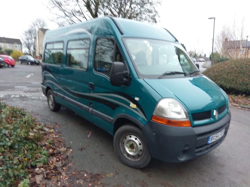 Used Renault Master For Sale Derbyshire